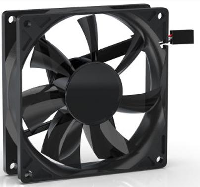 Вентилятор для корпуса Noiseblocker BlackSilentPRO PE-P 92x92x25 мм, 500-1800rpm, 37.6 CFM, 20 дБ, 4 Pin (PWM) вентилятор noiseblocker blacksilentpro pr 2 60mm 2500rpm
