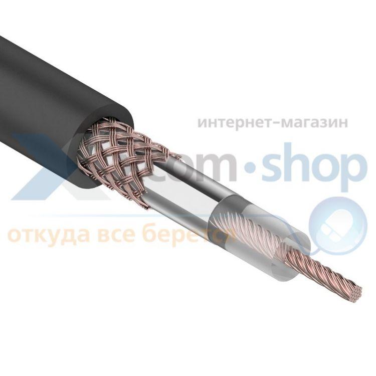 Rexant RG-58 A/U, (64%), 50 Ом, 100м., черный