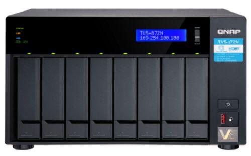 Сетевой накопитель QNAP TVS-872N-i3-8G
