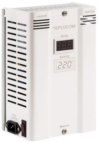 Стабилизатор Бастион Teplocom ST 600 Invertor фазоинверторный сетевого напряжения
