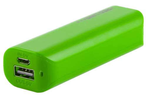 Аккумулятор внешний универсальный Red Line R-3000 УТ000008709 3000 mAh, зеленый