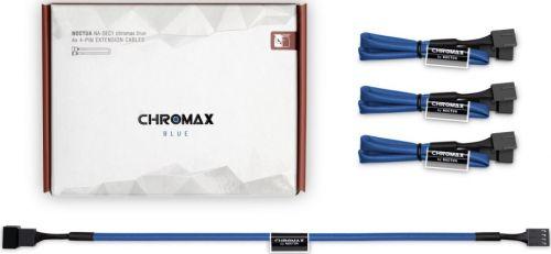 Удлинитель Noctua NA-SEC1.BLUE 30см,4-pinPWM,4шт,синие
