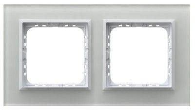 Рамка Ospel R-2RGC/60/00 двойная