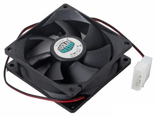 Вентилятор для корпуса Cooler Master N8R-22K1-GP 80х80х25 мм, 2200 об/мин, 29.9 CFM, 21dBA, 3pin