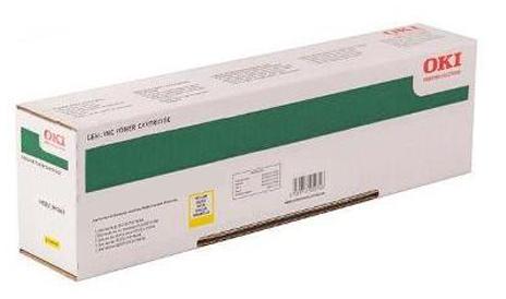 Картридж OKI 45862837 Tонер-картридж желтый (7,3К) OKI MC853/873