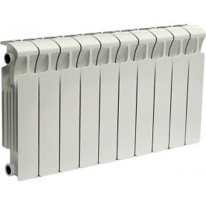 Радиатор отопления биметаллический Rifar Monolit Ventil 500 х4 RM50004НЛе нижнее подключение, левое биметаллический радиатор rifar rifar monolit 500 12 секц