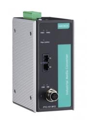Медиа-конвертер MOXA PTC-101-M12-S-SC-LV-T M12 connector, single mode, SC connector, 20-72 VDC