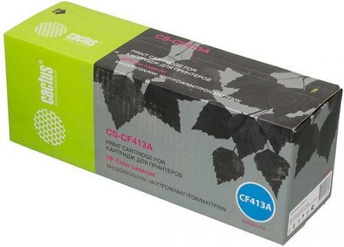 Фото - Картридж Cactus CS-CF413A пурпурный для HP LJ M452DW/DN/NW, M477FDW/M477FDN/M477FNW (2300стр.) картридж easyprint cf413a 2300стр пурпурный