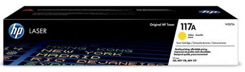 Тонер-картридж HP 117A W2072A желтый (700 стр) для HP Color Laser MFP 179 fnw