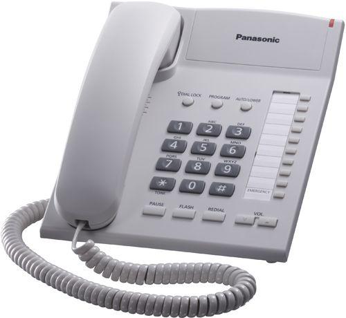 Телефон проводной Panasonic KX-TS2382RUW проводной телефон panasonic kx ts2363ruw