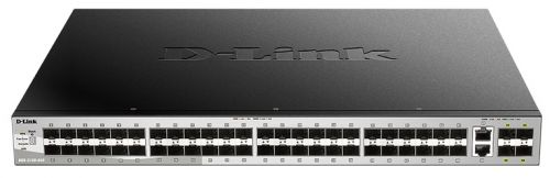 Фото - Коммутатор D-link DGS-3130-54S/A1A 48x1000Base-X SFP, 2x10GBase-T,4x10GBase-X SFP, L3 sfp трансивер d link 311gt a1a