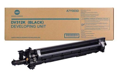 Блок проявки Konica Minolta DV-312K A7Y003D Девелопер черный DV-312K Konica-Minolta bizhub 227/287/367