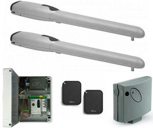 Комплект NICE WINGO3524KCE привод WG5024 - 2 шт, блок управления MC424L, приемник SMXI, пульт FLO2RE - 2 шт