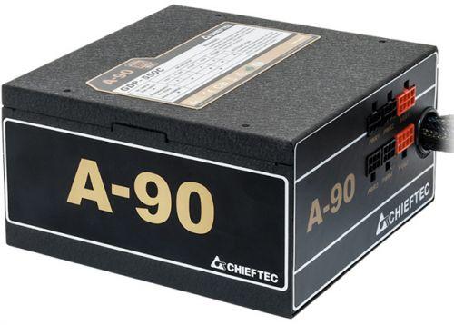Блок питания ATX Chieftec GDP-650C 650W Cab Manag 90+ 14cm Fan APFC (20+4),4+8p, Mod 2(3xSATA), 2(2xMolex+Floppy),2(6+2), 230V Only Retail