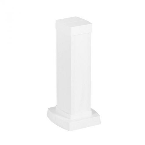 Колонна Legrand 653000 Snap-On мини алюминиевая с крышкой из пластика 1 секция, высота 0,3 метра, цвет белый