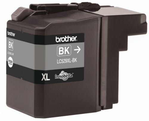 Картридж Brother LC-529XLBK для DCP-J100/J105/J200 чёрный 2400 стр картридж brother lc 563bk для mfcj2310 2510 3520 3720 чёрный 600стр
