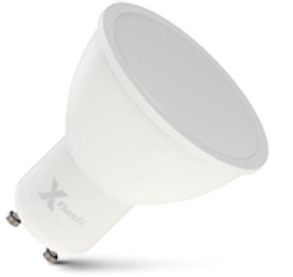 Лампа светодиодная X-flash 48380 XF-GU10-3W-4000K-230V GU10, 3 Вт, 4000 К, 220 В, 240 Лм, матовая колба лампа светодиодная x flash 48014 xf e14 fl p45 4w 4000k 230v е14 4 вт 4000 к 220 в 460 лм матовая колба шар