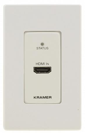 Передатчик Kramer WP-871XR/US(W/B) 50-805161195 HDMI по витой паре DGKat, поддержка 4К60 4:4:4, PoC, цвет белый и черный, вариант США