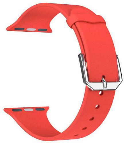 Ремешок на руку Lyambda ALCOR DS-APS08C-40-RD силиконовый для Apple Watch 38/40 mm red ремешок для смарт часов lyambda alcor для apple watch 38 40 mm розовый