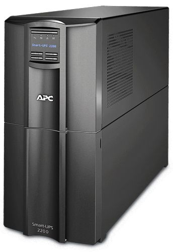 Источник бесперебойного питания APC SMT2200I 2200VA/1980W, Line-Interactive, LCD, Out: 220-240V 8xC13 (4-Switched) 1xC19, SmartSlot, USB, COM, EPO, HS