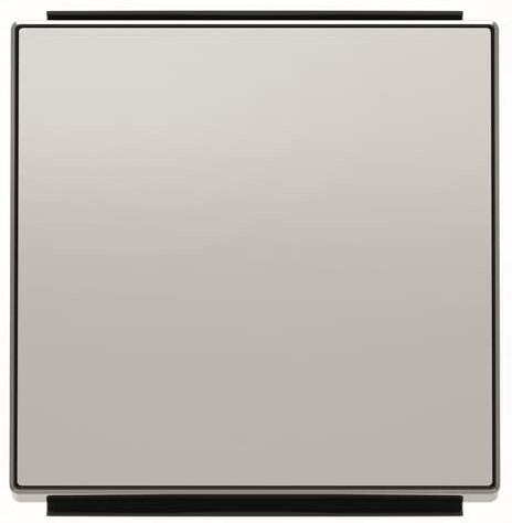 Панель лицевая ABB 2CLA850100A1301 для 1-клавишных выключателей/переключателей/кнопок, серебристый