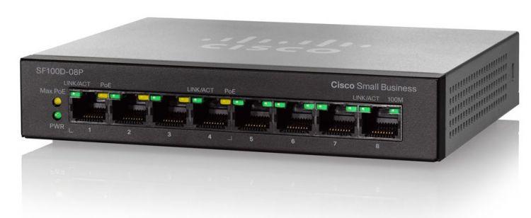 Cisco SB SF110D-08HP-EU