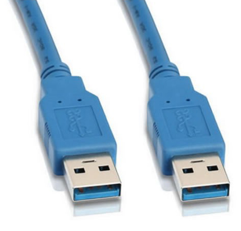 Кабель интерфейсный USB 3.0 Cablexpert AM/AM 1.8 м, Pro, экран, синий, пакет