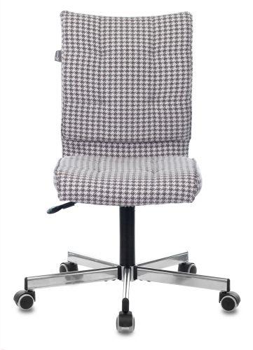 Фото - Кресло Бюрократ CH-330M Morris-1 гусин.лапка, крестовина металл кресло бюрократ ch 605 черное искусственная кожа крестовина металл