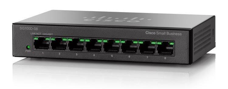 Cisco SB SG110D-08-EU