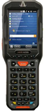 Фото - Терминал сбора данных PointMobile P450GP72154E0T (2D имидж) Point Mobile PM450 BT/802.11 abgn/512MB-1Gb/QVGA/WCE6.0/numeric терминал сбора данных pointmobile p260ep12134e0t 2d 2200 ма·ч li ion point mobile pm260 2d bt 802 11 bg 256 256 wce6
