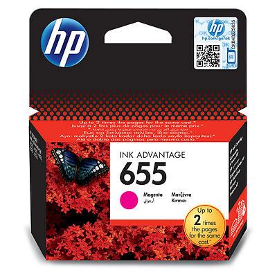 Фото - Картридж HP 655 CZ111AE для принтеров HP DJ IA 3525/5525/4515/4525, пурпурный, 600 стр картридж hp cz102ae 650 цветной dj ia 2615 200стр