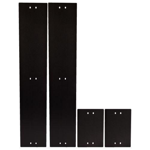 Фото - Комплект боковых панелей Lanmaster LAN-DC-CB-6x12-PL2SP для цоколя шкафа LANMASTER DCS 600х1200 мм, высотой 200 мм комплект боковых панелей lanmaster lan dc cb 42ux10 sp с замками для шкафа 42u глубиной 1070 мм