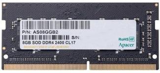 Фото - Модуль памяти SODIMM DDR4 8GB Apacer ES.08G2T.GFH PC4-19200 2400MHz CL17 1.2V 1024x8 RTL модуль памяти hynix ddr4 dimm 2400mhz pc4 19200 cl15 8gb hma81gu6afr8n uhn0