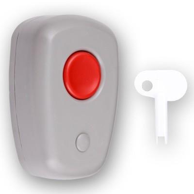 Извещатель ТЕКО Астра-321М (ИО 101-7) тревожная кнопка, фиксация при нажатии, универсальный механический ключ разблокировки