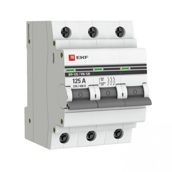 Выключатель нагрузки EKF SL125-3-100-pro 3п 100А ВН-125 PROxima