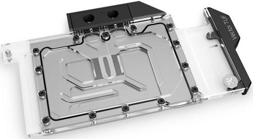Блок жидкостного охлаждения EKWB EK-QuantumVectorTUFRTX3080/3090D-RGB-Nickel+Plexi длявидеокартыRTX3080/3090