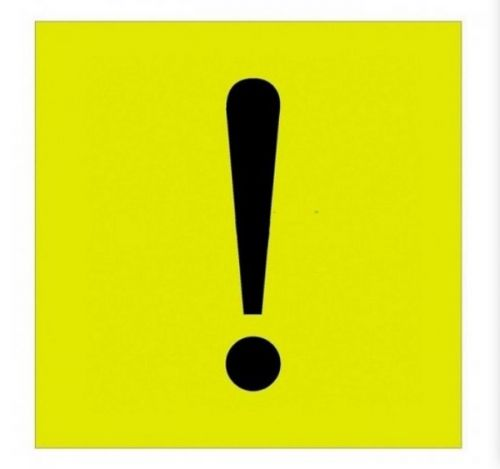 Наклейка Rexant 56-0034 информационный знак