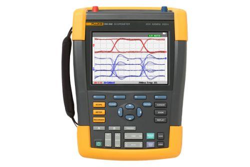 Осциллограф Fluke FLUKE-190-062/EU 4025159 ScopeMeter, 60 МГц, 2 канала
