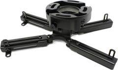 Крепление Wize PR-UNV универсальное для проектора, наклон +/- 25°, поворот +/- 6°, вращение 360°, до 23 кг, черное 0 pr на 100