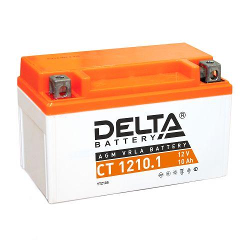 Аккумулятор Delta CT 1210.1 12В, 10Ач, battery replacement YTZ10S