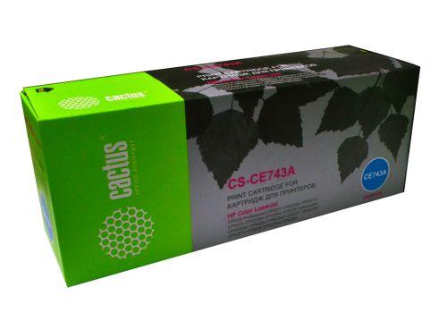 Картридж Cactus CS-CE743A для HP Color LaserJet CP5220 Professional CP5221 magenta,7 300 стр