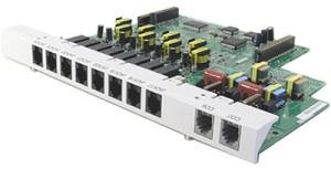 Дополнительная плата для АТС Panasonic KX-TE82480X 2 внешних и 8 внутренних aналоговых для TES/TEM824