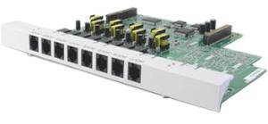 Дополнительная плата для АТС Panasonic KX-TE82474X 8 aналоговых внутренних линии для TES/TEM824RU