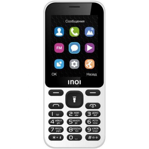 Мобильный телефон INOI 239 White мобильный телефон inoi 239 dark red