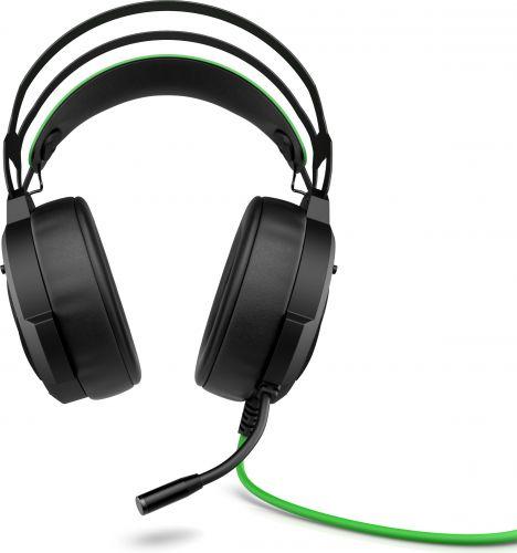 Гарнитура HP Pavilion Gaming 600 4BX33AA черный/зеленый, 1.9м, мониторы, оголовье