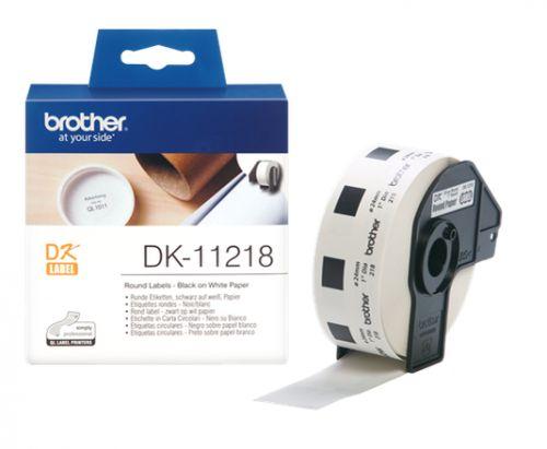 Наклейка Brother DK11218 Адресные наклейки Brother