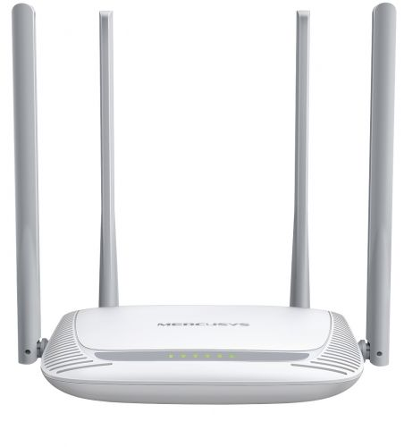 Роутер Mercusys MW325R Wi-Fi 300Mbps, 802.11b/g/n, 1xWAN, 3xLAN, 4 антенны