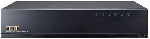 Видеорегистратор Wisenet XRN-2010A до 32 каналов, H.265, H.264, MJPEG, поддержка WiseStream (H.265, H.264), CIF ~ 12Мп., 256 Мбит/с (H.265 4 Мп запись