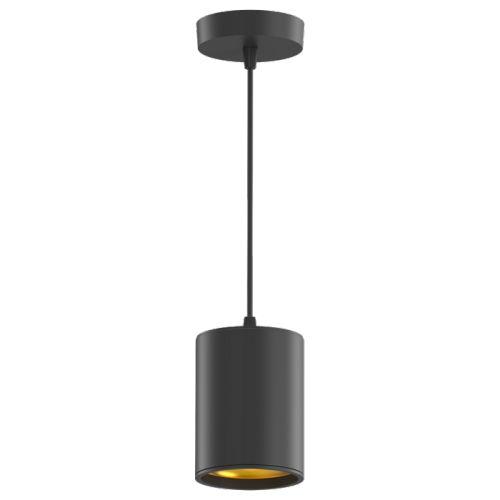 Светильник Gauss HD042 LED накладной (подвесной) HD042 12W (черный/черный) 4100K 79*100мм
