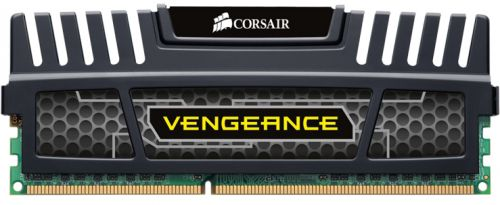 CMZ8GX3M1A1600C9 Модуль памяти DDR3 8GB Corsair CMZ8GX3M1A1600C9 Vengeance Heatspreader PC3-12800 1600MHz CL9 1.5V Радиатор RTL
